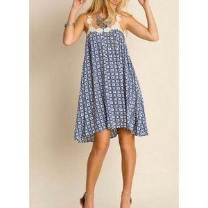 Umgree Printed Mini Dress
